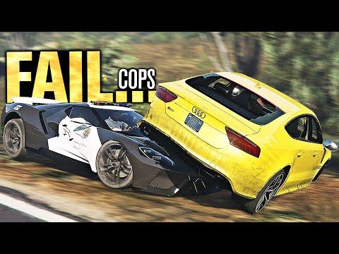 My BIGGEST PURSUIT FAIL In GTA FiveM!!! (Cops & Robbers)