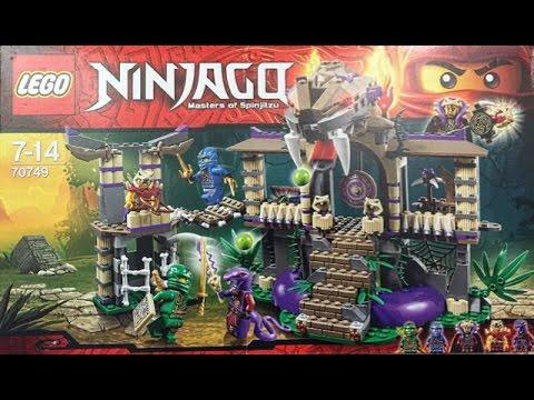 Lego Ninjago   Masters of Spinjitzu   Toy Unpacking and Constructing ...