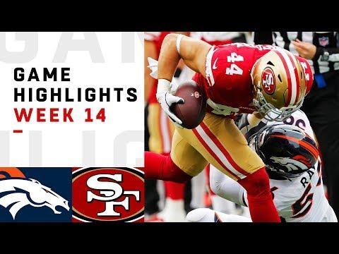 Broncos vs. 49ers Week 14 Highlights | NFL 2018