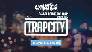 Cymatics  Savage Drums for Trap Sample Pack