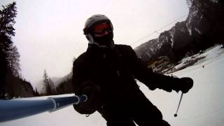 MARMOLADA - MALGA CIAPELA zjazd na nartach