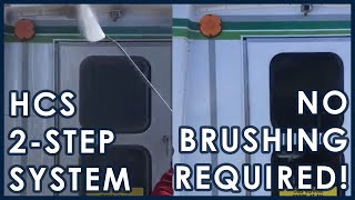 2 Step Touchless Truck Washing System | No Brushing | Hydro-Chem Systems