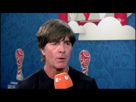 Joachim Löw – Deutschland v Kamerun post-match interview (Confed Cup 2017)