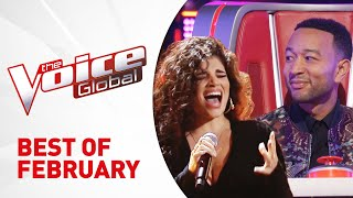 BEST AUDITIONS of FEB 2019 in The Voice...