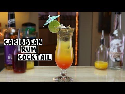 Caribbean Rum Cocktail