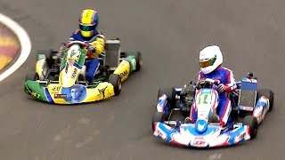 Two drivers... One AMAZING kart race... 2019 IKR UK Gold Cup, Juniors