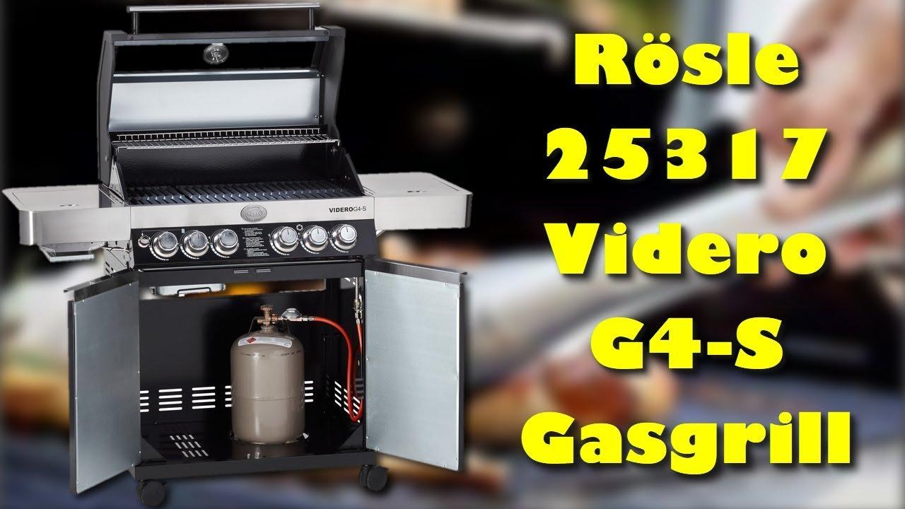 Rösle Gasgrill Im Vergleich : Rösle 25317 videro g4 s gasgrill lohnt sich der kauf ? youtube