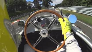 Nico's onboard lap with radio in the W 196 at the Nordschleife!