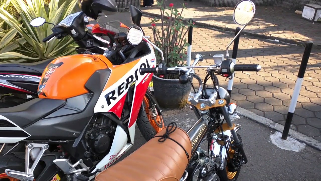 Replika Mini Motor Honda St70 Dax YouTube