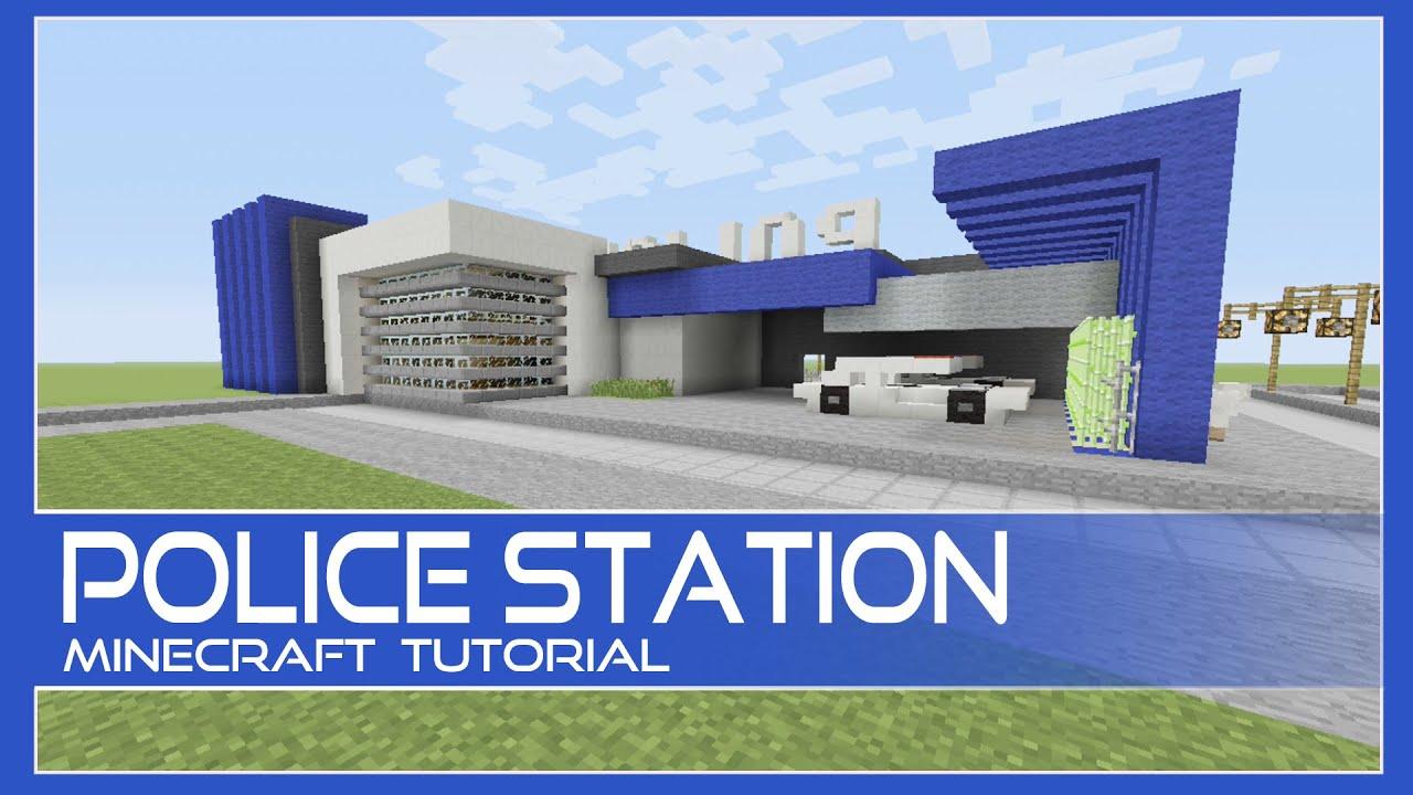 police station tutorial minecraft xboxplaystationpepc