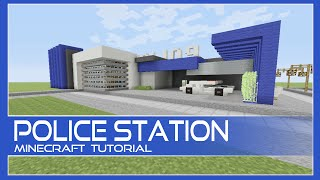 Police Station Tutorial Minecraft Xbox/Playstation/PE/PC/Wii U