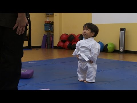 Thumbnail: Karate Homework | The Little Couple