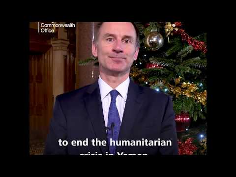 Foreign Secretary's Christmas message 2018