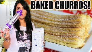 BAKED CHURROS?! SURE, OHHH!! - #TastyTuesday