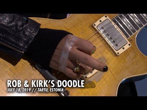 Metallica: Rob & Kirk's Doodle (Tartu, Estonia - July 18, 2019)