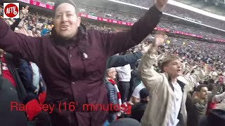 Tottenham 1-1 Arsenal | Gooners Giving It Large At Wembley! (Stadium Cam)