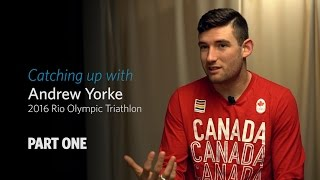 Interview: Catching up with Olympian Andrew Yorke: PART ONE