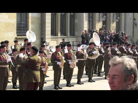 Queen Beatrix in Luxembourg: Musical Interlude