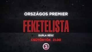 Feketelista - 2. évad PREMIER - csütörtök 21:00 - DUPLA RÉSZ- VIASAT3