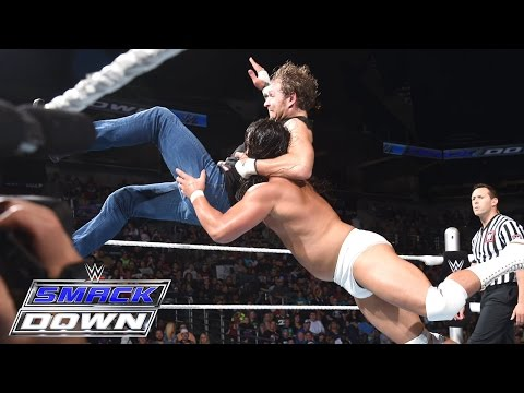 Dean Ambrose vs. Bo Dallas: SmackDown, July 9, 2015