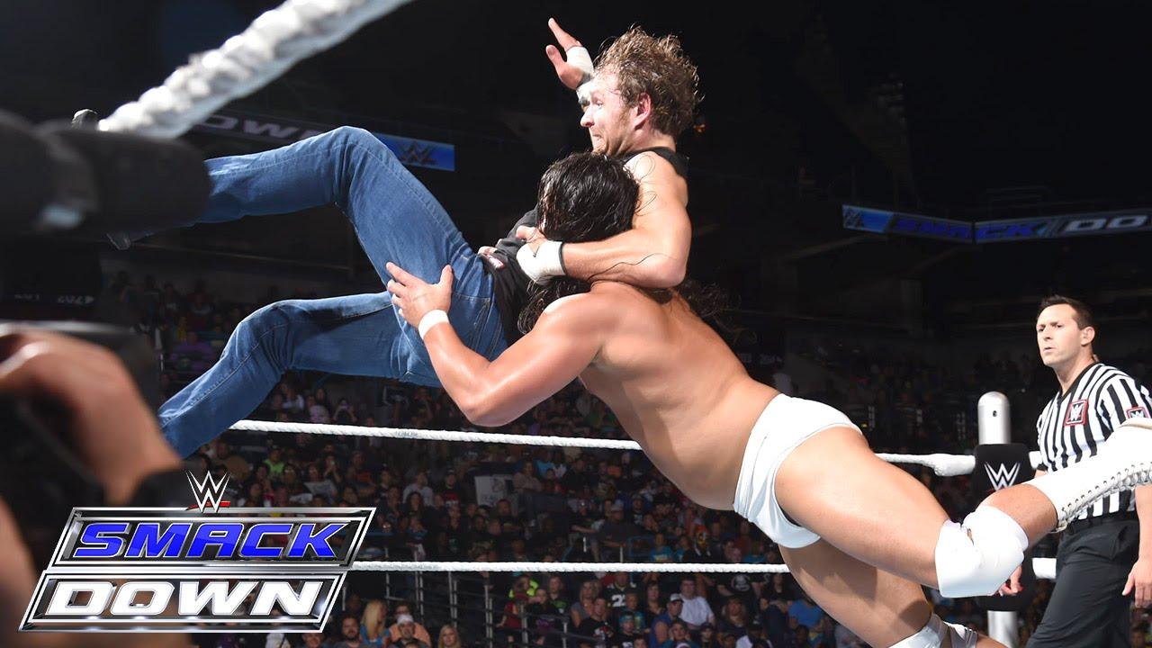 Dean Ambrose vs. Bo Dallas: SmackDown, July 9, 2015