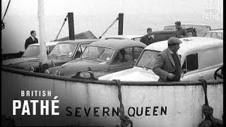 Severn Bridge Progresses (1964)