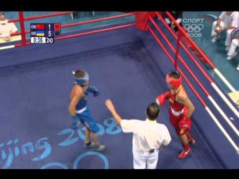 1 2008 Olympics QF   LI Yang  CHN   LOMACHENKO Vasyl UKR  57 kg