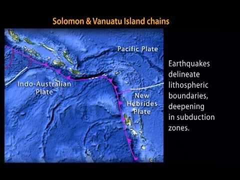 Solomon & Vanuatu Islands—Earthquakes & Tectonic Setting