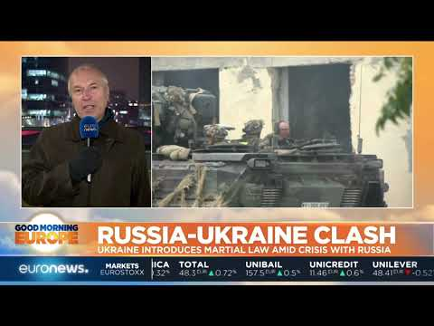 What's the reaction from Brussels to the crisis between Russia and Ukraine? | #GME