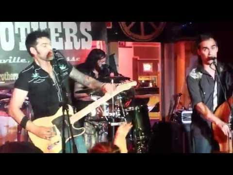 The Eskimo Brothers on Lower Broadway in Nashville...