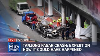 ST's senior transport correspondent on what could have led to Tanjong Pagar crash | THE BIG STORY