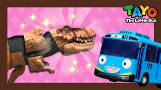 Dinosaur puzzle with Tayo l Tayo Mini Game l Tayo the Little Bus