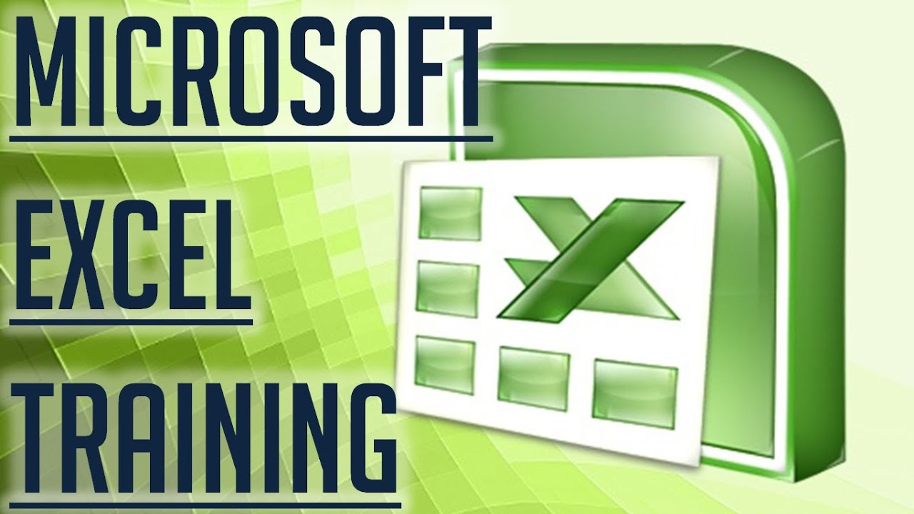 [Free Excel Tutorial] MICROSOFT EXCEL TRAINING
