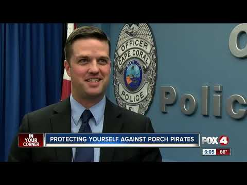 Protecting against porch pirates