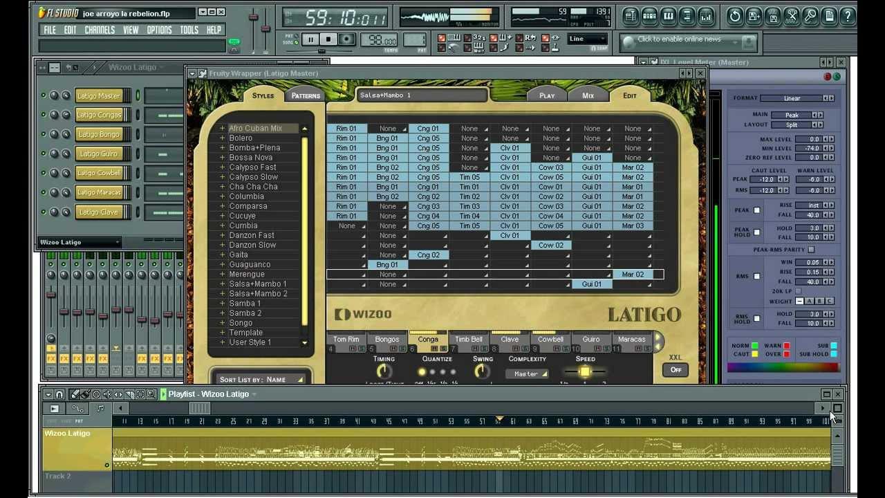 wizoo latigo vst-latin percussion full