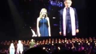 Andrea Bocelli & Jackie Evancho - Time to say goodbye (Conte Partiro)