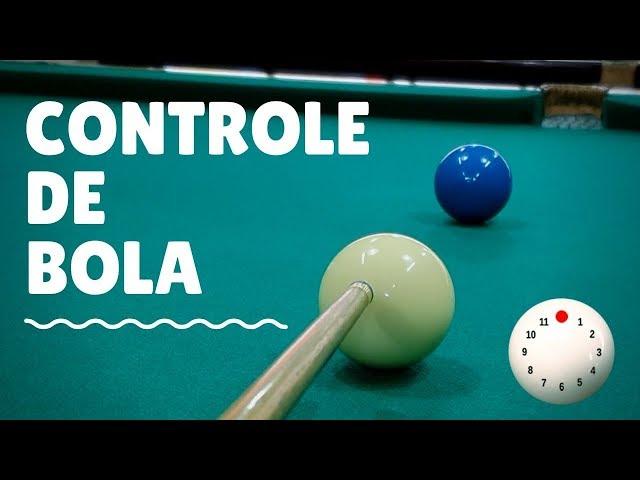 Como controlar a bola branca na sinuca - 1ª Parte
