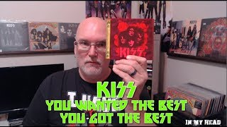 KISS You Wanted the Best, You Got the Best Album Review - In My Head KISS Album Review Episode 29