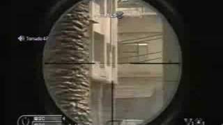 CALL OF DUTY 4 SNIPING DOING THIS MY WAY SEETHER