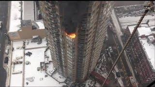 High Rise Terror:  Massive Blaze on the 20th Floor