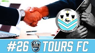 A STRESSFUL TRANSFER WINDOW! | Tours FC Ep 26 | Soccer Manager 2018 Gameplay
