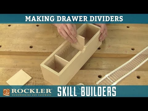 how-to-make-drawer-dividers-|-rockler-skill-builders