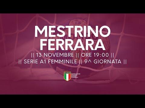 Serie A1F [9^]: Mestrino - Ferrara 22-15