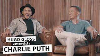 Gambar cover Hugo Gloss entrevista Charlie Puth, em sua primeira vinda ao Brasil