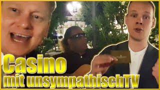 UnsympathischTV besucht Knossi im Casino!