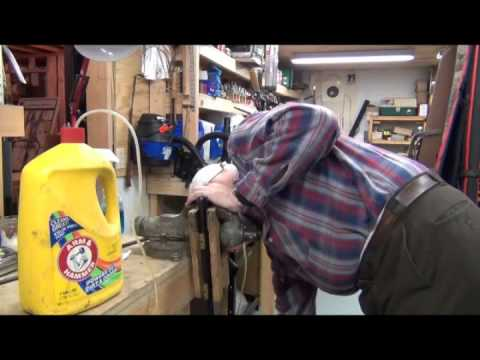 How I clean my muzzle loader.wmv