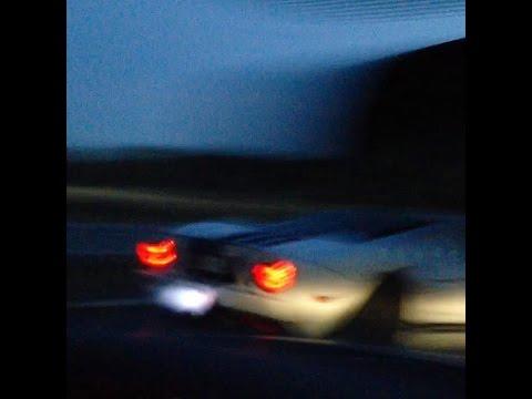 R35 GT-R vs 997 Turbo and a Ford GT HIGH SPEED 350km/h+ topspeed pass highway