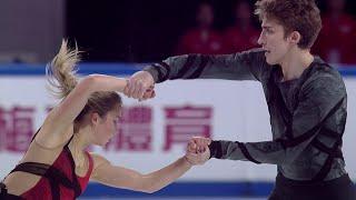 А. Ефимова - А. Коровин. Короткая программа. Shiseido Cup of China. Гран-при по фигурному катанию