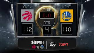 Raptors Warriors LIVE Scoreboard - Join the conversation and catch all the action on #NBA ...