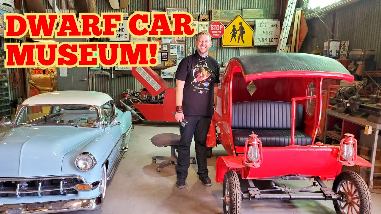 1324 DWARF CAR MUSEUM Maricopa Arizona - Jordan The Lion Travel Vlog (6/29/20)